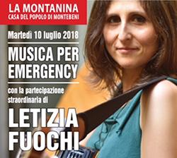 Emergency Firenze, Letizia Fuochi ed il fresco alla Montanina di Montebeni