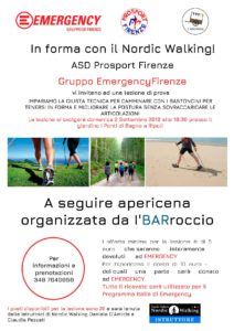 Impara la tecnica per camminare con i bastoncini e stai in forma con il Nordic Walking! @ Giardino I Ponti - Bagno a Ripoli | Bagno A Ripoli | Toscana | Italia