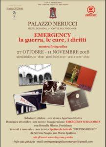 EMERGENCY la guerra, le cure, i diritti @ Palazzo Nerucci (Castel del Piano - Gr) | Castel del Piano | Italia
