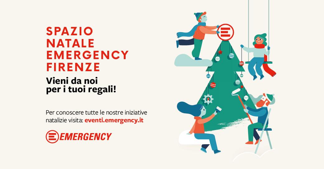 Emergency Regali Di Natale.Natale Per Emergency Emergency Firenze