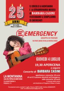 Apericena e concerto di Barbara Casini alla Montanina