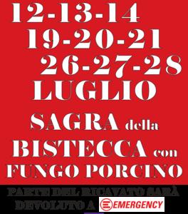 Festa della bistecca a Pozzolatico - Luglio @ CRC Pozzolatico   Pozzolatico   Toscana   Italia