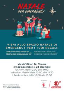 Natale per Emergency @ Via de' Ginori, 14, 50123 Firenze FI, Italia   Firenze   Toscana   Italia